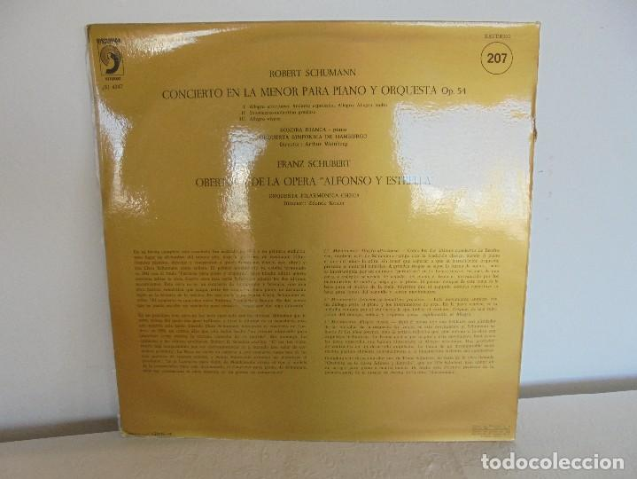 Discos de vinilo: SCHOENBERG. NOCHE TRANSFIGURADA. MAHLER. ADAGIO DE LA SINFONIA Nº 10. SUPRAPHON 1978. - Foto 16 - 69278137