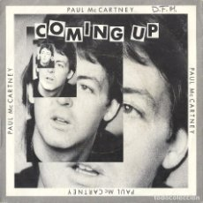 Disques de vinyle: PAUL MCCARTNEY (THE BEATLES): COMING UP / COMING UP (LIVE AT GLASCOW) / LUNCH BOX-ODD BOX. Lote 69283517