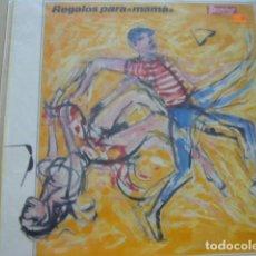 Discos de vinilo: BURNING. REGALOS PARA MAMÁ. VEMSA E-30.1818 LP 1989 SPAIN ENCARTE. Lote 69286933