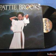 Discos de vinilo: PATTIE BROOKS AND THE SIMON ORCHESTRA ( GIRL DON'T MAKE ME WAIT ) CASABLANCA PROMO USA PEPETO. Lote 69308929