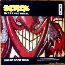 Discos de vinilo: BEATS INTERNATIONAL : DUB BE GOOD TO ME [ESP 1990] 12'. Lote 69325381