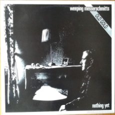 Discos de vinilo: WEEPING MESSERSCHMITTS : NOTHING YET [ESP 1994] 12'. Lote 69354081