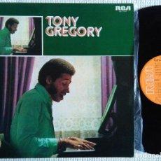Discos de vinilo: TONY GREGORY - '' S/T '' VINYL LP ORIGINAL SPAIN VERY RARE. Lote 44321644