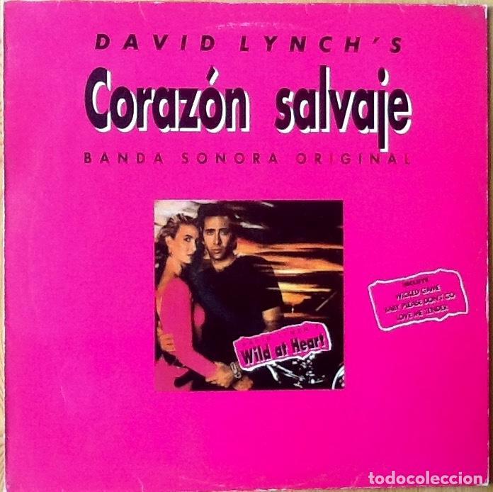 V / A : BSO WILD AT HEART (CORAZON SALVAJE) [ESP 1990] LP (Música - Discos - LP Vinilo - Bandas Sonoras y Música de Actores )