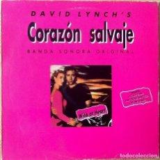 Discos de vinilo: V / A : BSO WILD AT HEART (CORAZON SALVAJE) [ESP 1990] LP. Lote 69355781