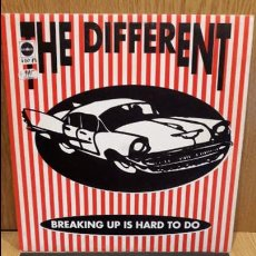 Discos de vinilo: THE DIFFERENT. BREAKING UP IS HARD TO DO. MAXI SG / LUCAS RECORDS / MBC. ***/***. Lote 69367365