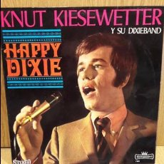 Discos de vinilo: KNUT KIESEWETTER Y SU DIXIEBAND. HAPPY DIXIE. LP / SONOCORD - 1969 / MBC. ***/***. Lote 69367837