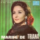 Discos de vinilo: MARIFÉ DE TRIANA EP 1966-. Lote 69383713
