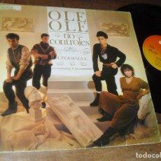 Discos de vinilo: OLE OLE - MAXISINGLE- NO CONTROLES MADE IN SPAIN.1983. Lote 69337193