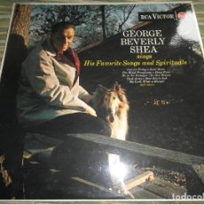 Discos de vinilo: GEORGE BEVERLY SHEA SINGS FAVORITE SONGS AND SPIRITUALS LP - ORIGINAL INGLES - RCA 1963 - MONOAURAL. Lote 69403485
