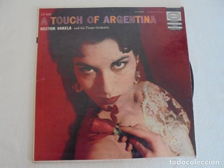 Discos de vinilo: A TOUCH OF ARGENTINA. HECTOR VARELA AND HIS TANGO ORCHESTRA. VER FOTOGRAFIAS ADJUNTAS - Foto 2 - 69408285