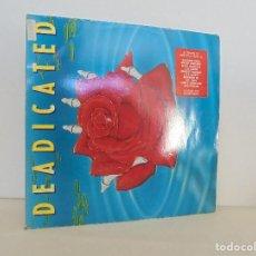 Discos de vinilo: DEDICATED. DOS DISCOS. ARISTA RECORDS 1991. VER FOTOGRAFIAS ADJUNTAS. Lote 69416785