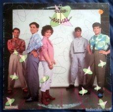 Discos de vinilo: CLUB NAVAL: CLUB NAVAL, LP HISPAVOX 150 083. SPAIN, 1984. VG+/VG. Lote 69420533