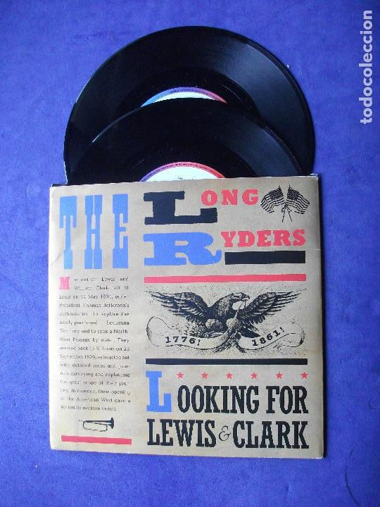 THE LONG RYDERS LOOKING FOR LEWIS&CLARK DOBLE EP UK 1985 PDELUXE (Música - Discos de Vinilo - EPs - Country y Folk)