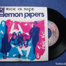 Discos de vinilo: THE LEMON PIPERS RICE IS NICE + 3 EP PORTUGAL PDELUXE. Lote 69431489