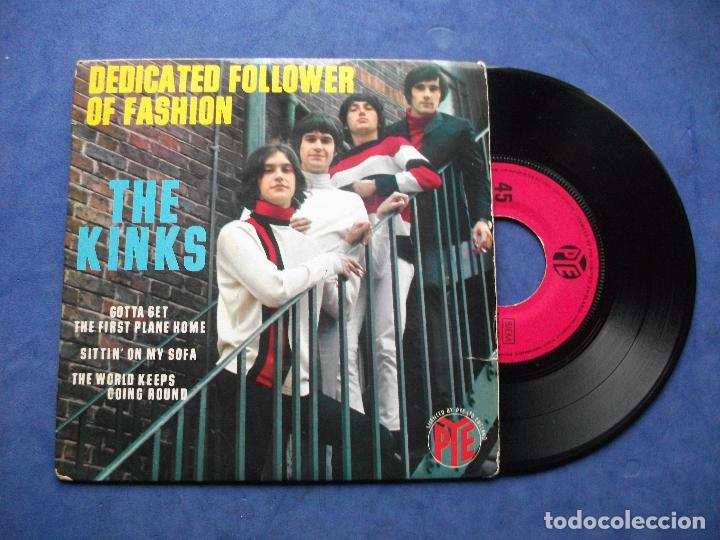 Discos de vinilo: THE KINKS DEDICATED FOLLOWER OF ..+ 3 EP FRANCIA PDELUXE - Foto 1 - 69431549