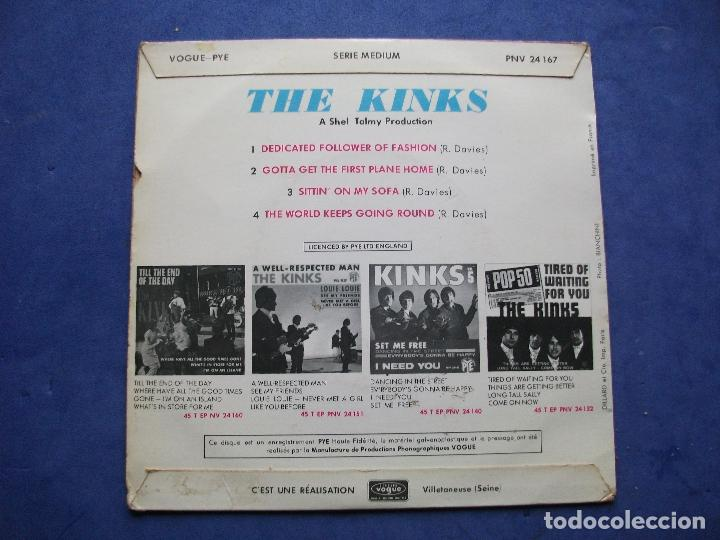 Discos de vinilo: THE KINKS DEDICATED FOLLOWER OF ..+ 3 EP FRANCIA PDELUXE - Foto 2 - 69431549