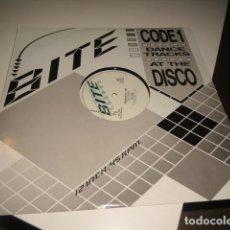 Discos de vinilo: TRAST DISCO GRANDE 12 PULGADAS BITE RECORDS ROMANTIC JO JOE . Lote 69431933