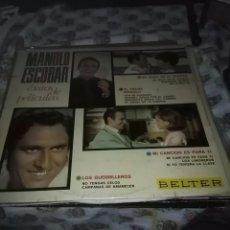 Discos de vinilo: MANOLO ESCOBAR. ÉXITOS DE PELICULAS. C6V. Lote 69447637