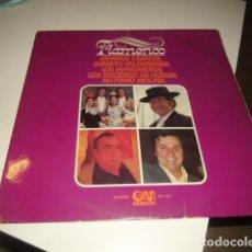 Discos de vinilo: TRAST DISCO GRANDE 12 PULGADAS FLAMENCO - MANOLO CARACOL, LOS MARISMEÑOS, JUANITO VALDERRAMA...1975. Lote 106548719