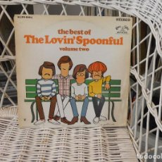 Discos de vinilo: THE LOVIN' SPOONFUL– THE BEST OF VOLUME TWO.LP ORIGINAL USA 1968.SELLO KAMASUTRA. Lote 69464085