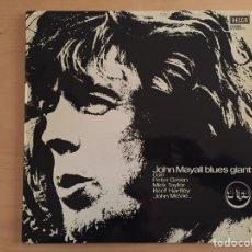 Discos de vinilo: JOHN MAYALL: BLUES GIANT, CON PETER GREEN, MICK TAYLOR, KEEF HARTLEY, JOHN MCVIE... (2LP). Lote 69472537