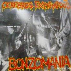 Discos de vinilo: CEREBROS EXPRIMIDOS. BONZOMANIA. MUNSTER RECORDS MR 016 LP 1991 SPAIN. Lote 69482821