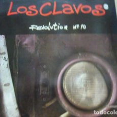 Discos de vinilo: LOS CLAVOS. REVOLUTION Nº 10. ROMILAR-D RECORDS 042 7 89685 1 LP 1991 SPAIN. Lote 69488685