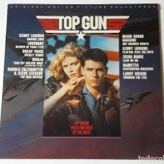 Discos de vinilo: VARIOUS - TOP GUN - ORIGINAL MOTION PICTURE SOUNDTRACK - LP - 1986. Lote 69502337