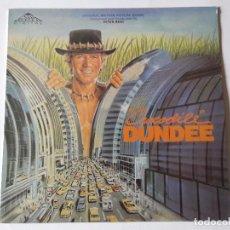 Discos de vinilo: PETER BEST - CROCODILE DUNDEE - ORIGINAL MOTION PICTURE SCORE - LP - 1986. Lote 69503885