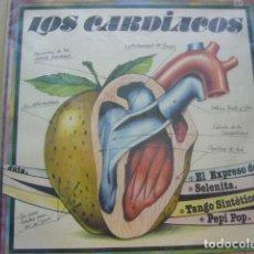 Discos de vinilo: LOS CARDIACOS. EL EXPRESO DE BENGALA + 3. FUSION RECORDS M3-MS003 MAXI. 1982 SPAIN. Lote 69509013