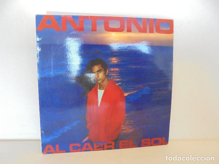 ANTONIO FLORES. AL CAER EL SOL. EPIC 1981. VER FOTOGRAFIAS ADJUNTAS. (Música - Discos - Singles Vinilo - Cantautores Españoles)