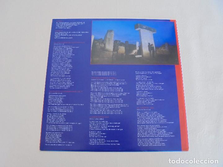 Discos de vinilo: ANTONIO FLORES. AL CAER EL SOL. EPIC 1981. VER FOTOGRAFIAS ADJUNTAS. - Foto 3 - 69513585