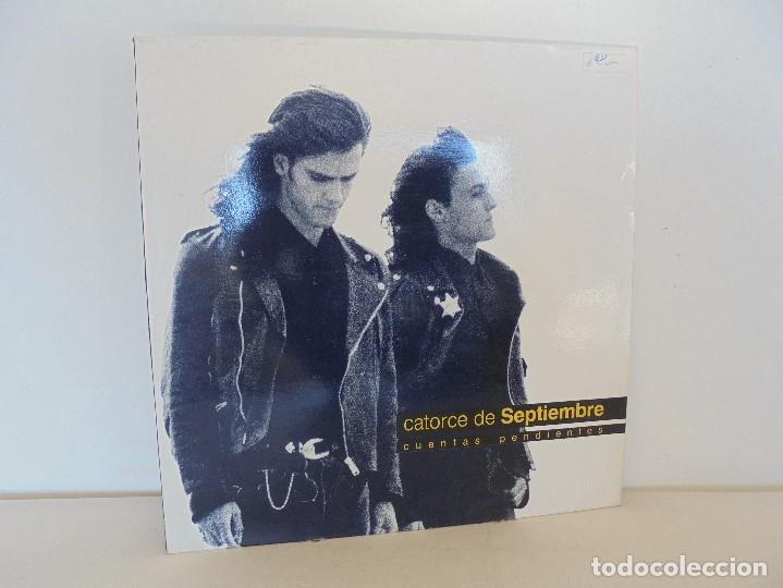 CATORCE DE SEPTIEMBRE. CUENTAS PENDIENTES. RDK 1990. VER FOTOGRAFIAS ADJUNTAS. (Música - Discos - Singles Vinilo - Pop - Rock Internacional de los 90 a la actualidad)