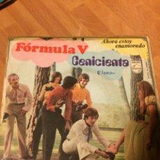 Discos de vinilo: SINGLE FÓRMULA V CENICIENTA. Lote 69529986