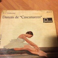 Discos de vinilo: EP DANZAS DE ÉL CASCANUECES TCHAIKOVSKY. Lote 69532681