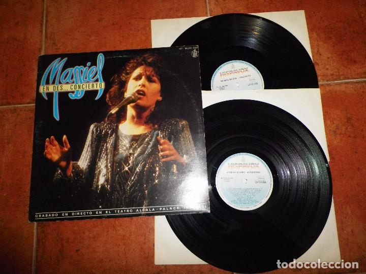 MASSIEL EN DES .....CONCIERTO DIRECTO TEATRO ALCALA DOBLE LP VINILO GATEFOLD LUIS EDUARDO AUTE 2 LP (Música - Discos - LP Vinilo - Solistas Españoles de los 70 a la actualidad)