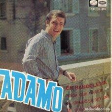 Discos de vinilo: ADAMO - EP 1967 - EN BANDOLERA + 3. Lote 69580825