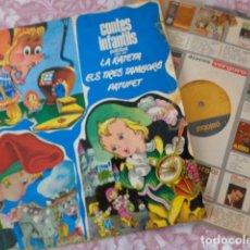 Discos de vinilo: CONTES INFANTILS - LA RATETA - ELS TRES TAMBORS - PATUFET - PALOBAL PH - 1002 - 1966. Lote 69625133