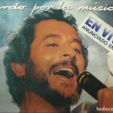 Discos de vinilo: JUAN PARDO LP SELLO HISPAVOX AÑO 1985 2 DISCOS PRECINTADO. Lote 69628317