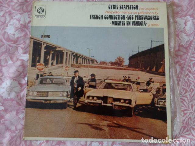 CYRIL STAPLETON Y SU ORQUESTA INTERPRETAN TEMAS DE PELICULAS Y T.V. -PYE RECORDS ?– 82.153-I - 1972 (Música - Discos - LP Vinilo - Bandas Sonoras y Música de Actores )