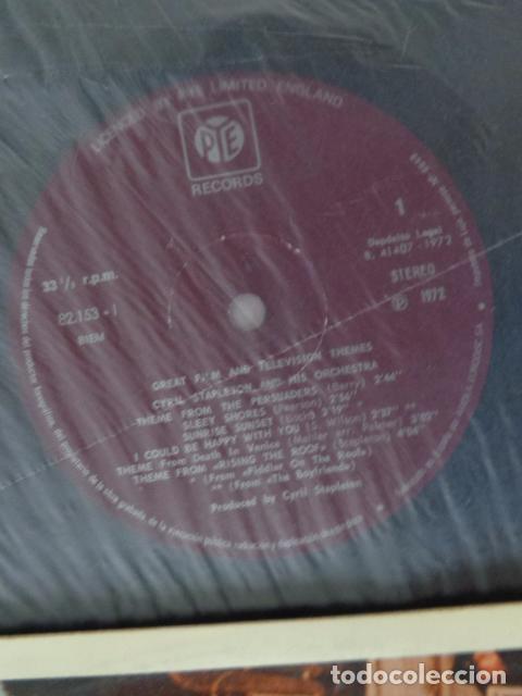 Discos de vinilo: Cyril Stapleton Y Su Orquesta Interpretan Temas De Peliculas Y T.V. -Pye Records ?– 82.153-I - 1972 - Foto 3 - 69632997