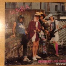 Discos de vinilo: LA BURLA: MOLESTANDO A LOS VECINOS. Lote 69636995