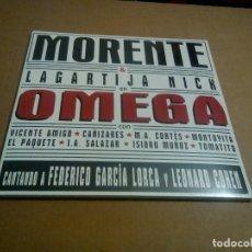 Discos de vinilo: MORENTE & LAGARTIJA NICK - OMEGA (2LP 2016, UNIVERSAL 0602557116519) PRECINTADO. Lote 180919158