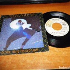 Discos de vinilo: NEIL YOUNG LITTLE THING CALLED LOVE SINGLE VINILO PROMO DEL AÑO 1982 1 SOLO TEMA. Lote 69644045