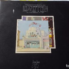 Discos de vinilo: MUSICA LP DOBLE HEAVY LED ZEPPELIN THE SONG REMAINS THE SAME CON LIBRETO OL. Lote 69663645