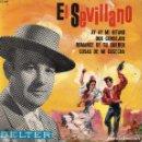 Discos de vinilo: EL SEVILLANO - EP1965 GUITARRAS MANOLO BONILLA Y JUAN SALAZAR. Lote 69664145
