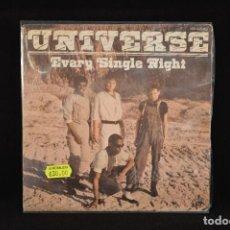 Discos de vinilo: UNIVERSE - EVERY SINGLE NIGHT / EVERY SINGLE NIGHT (INSTRUMENTAL) - SINGLE. Lote 69670025