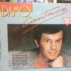 Discos de vinilo: ADAMO- LP ALBUM CANTARÉ. Lote 69670601