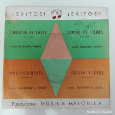 Discos de vinilo: RAÚL NAVARRO - CORAZÓN EN TWIST +3 1967 EP IBERIA CHA-CHA-CHA BOSSANOVA BEAT SLOW ROCK BOSSA. Lote 69676781